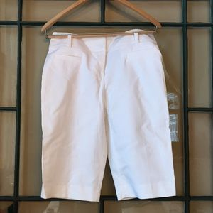 Apt. 9 Ladies Bermuda Shorts white